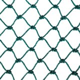 PE Braided Fishing Net em Green Colour