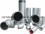 Galvalized e tubulação de aço alinhada de tubulação de fonte PSP da água plástico frente e verso anticorrosivo
