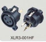 Conectador audio de XLR (XLR3-001HF)