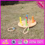 2016 het In het groot Stuk speelgoed van de Worp van de Ring van de Baby Houten, het Grappige Stuk speelgoed van de Worp van de Ring van Jonge geitjes Houten, het Meeste Populair Stuk speelgoed W01A159 van de Worp van de Ring van Kinderen Houten