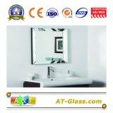 """specchio della stanza da bagno di 1.8-8mm che veste lo specchio dell'argento del vetro """"float"""" dello specchio della mobilia dello specchio"""