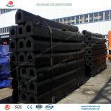 Defensas de goma cilíndricas de resistencia fuertes de la huelga para el proyecto de construcción