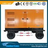 Remorque portative Jenerator diesel mobile d'utilisation du Nigéria/groupe électrogène