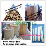木のアイスクリームの棒の生産ライン