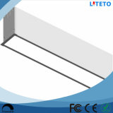 중단된 Recessed 30W 1.2m 4FT LED Linear Light Panel