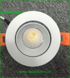 De interior regulable LED empotrado abajo se enciende para Home Hotel Lighting