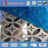 Feuilles décoratives de l'acier inoxydable Ss304