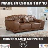 Sofa en cuir sectionnel à la maison moderne