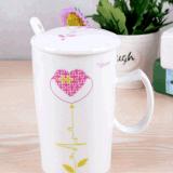 Tasse de café faite sur commande en céramique de cuvette de thé de nouveauté avec l'ECG