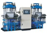 Doppeltes automatisches Vakuumvulkanisierendruckerei-Maschine