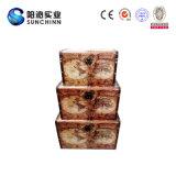 Хобот античного квадрата типа Европ китайские деревянные и коробка (SCOT00034)