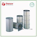 Cartuchos del filtro de aire de la membrana de PTFE usados en la filtración del gas de soldadura