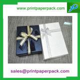 Rectángulo de regalo de lujo grande con la cinta
