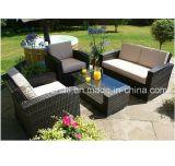 Muebles al aire libre de la venta caliente para el sofá del jardín de 2016 mimbres/de la rota