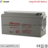 Batterie solaire de bonne qualité 12V150ah de gel pour des systèmes d'alimentation solaire