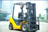 Un 2.5t Diesel Forklift with Original Japanese Isuzu Engine and Triplex 4.5m Mast (FD25T-JB)