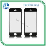 Vidro exterior dianteiro branco preto para a lente de vidro dianteira do iPhone 5s