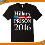 T-shirt bon marché d'élection d'usine d'impression en gros de /Advertising