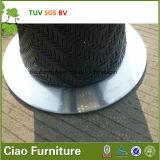 余暇の藤の家具の屋外のテラス柳細工棒表および椅子
