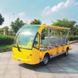 Omnibus eléctrico chino certificado Ce Dn-14 de la exportación caliente con 14 Seater