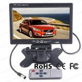 7 duim - Monitor van de Camera van de Mening van de hoge Resolutie TFT LCD de Achter