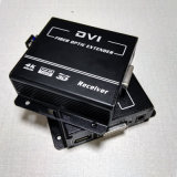 prolongamento de 1080P DVI sobre a fibra com o prolongamento Kvm &#160 do teclado e do rato;    Sustentações DVI e HDMI V1.4 (DVI-2000)