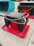 mini plaque de tassement de compacteur de plaque de l'excavatrice 3-5t