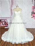 Самомоднейшее платье венчания 2016 втулки крышки типа сделало в Китае