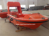 Open Type FRP Marine bateaux de sauvetage avec Davit