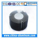 Caixa de alumínio do dissipador de calor com a caixa do alumínio dos dissipadores da anodização preta /Heat