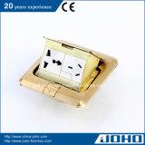 Messing Pop op Floor Socket Box met 13A het UK Socket