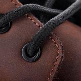 Altos del cuero de zapatos de seguridad de corte de Nubuck con Amortiguador de tacón M-8359