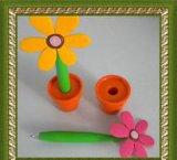 PVC высокого качества пластичный выдвиженческий Bobble головная ручка шарика (YTB003)