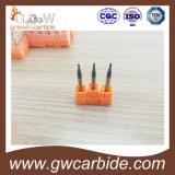 炭化タングステンの端製造所HRC45-55 R0.5mm