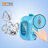 Color Kids Watch GPS Tracker with Free APP Operate Wt50-Ez