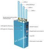 Beweglicher GPS Gleichlauf-Systems-Hemmer, 4 Band-HandMobiltelefon-Signal-Hemmer, Signal-Blocker