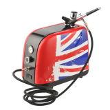 Миниый компрессор Airbrush салона красотки набора компрессора воздуха