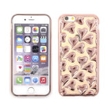 iPhone 5/6/S7를 위한 이동할 수 있는 Phone Bling Heart Electroplate Cellphone Case