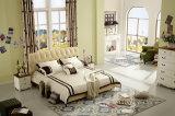 حارّ يبيع سرير ليّنة من غرفة نوم أثاث لازم مع تصميم جديدة ([جبل2017])