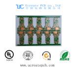 Qualität gedruckte Schaltkarte für USB-Blitz-Laufwerk mit grüner Lötmittel-Schablone