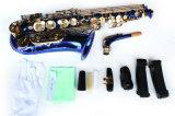 Musica di Hanhai/sassofono d'ottone negativo per la stampa di cartamoneta blu con il tasto di eb
