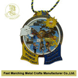 금속 Sport Award Olympic Marathon Medal, High Quality를 가진 Medallion