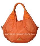 가죽 /Waterproof 직물 핸드백 (BS13601)를 가진 새로운 Desinger 직물 핸드백