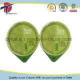 76mm Durchmesser-Verpacken- der LebensmittelAluminiumfolie-Kappen-überzogener Universallack
