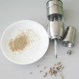 Smerigliatrice manuale del sale e di pepe dell'acciaio inossidabile