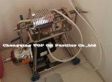 Filtre-presse utilisé portatif d'huile de cuisine d'acier inoxydable (BAS)