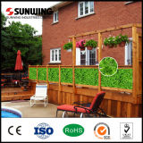 GroßhandelsOutdoor Artificial Leaf Plant Fence Panels für Balcony