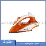 Ferro elettrico di viaggio del ferro di vapore Ei-8817 con il Soleplate di ceramica (arancione)