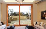 Finestra di scivolamento di alluminio con Windows di vetro/di alluminio riflesso (CL-W1005)