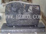 Pierre de mémorial de pierre de tête de pierre tombale de modèle d'Amerian